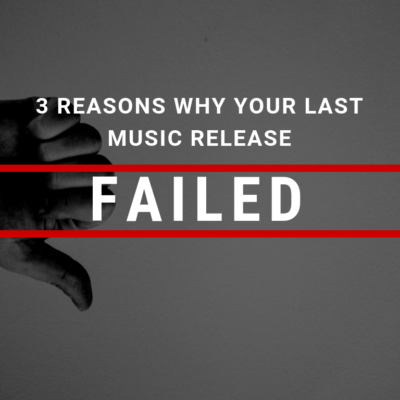 cyber pr music - 3 reasons your last music release failed