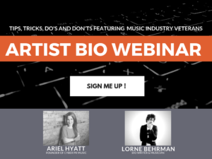 Musician Webinars