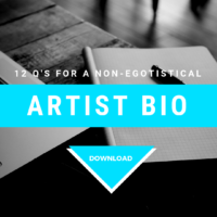 12 Q's For A Non-Egotistical Artist Bio