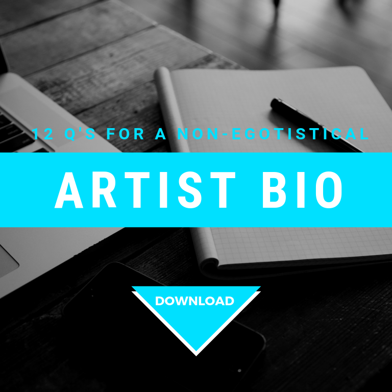 12 Q's For A Non-Egotistical Artist Bio