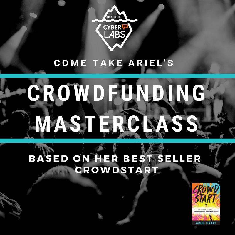 Crowdfunding Master Class Cyber PR LAB 9