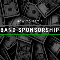 How To Get A Band Sponsorship