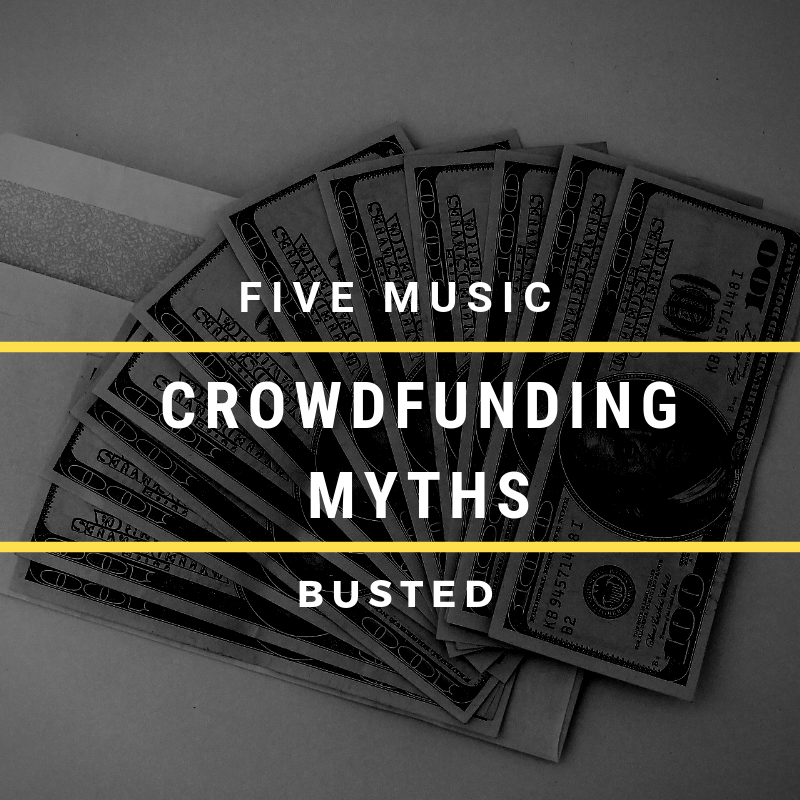 5 Music Crowdfunding Myths – Busted!