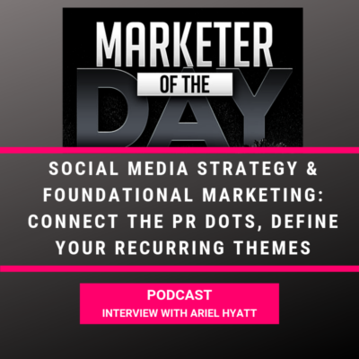 Marketer Of The Day Podcast