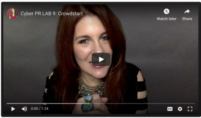 Crowdstart Class LAB with Ariel Hyatt