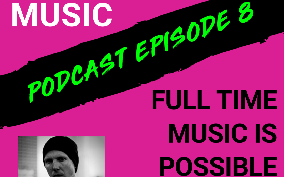 The Cyber PR Music Podcast EP 8: Full Time Music is Possible with Manafest