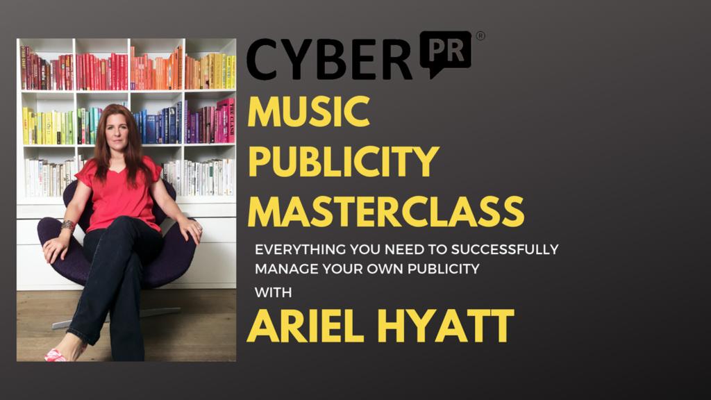 cyber pr lab 1 Music Publicity Masterclass