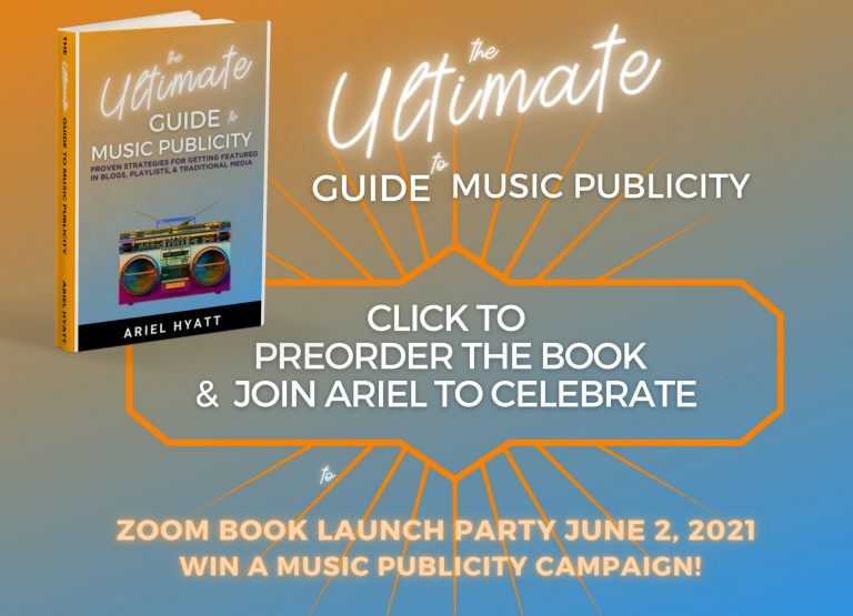 The Ultimate Guide to Music Publicity Preorder