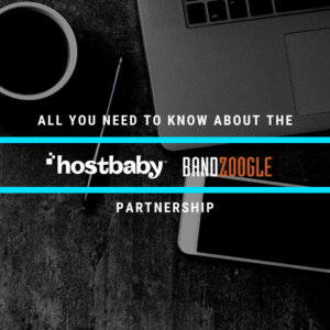 All You Need To Know About The HostBaby & Bandzoogle Partnership