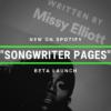 Spotify Songwriter Pages Cyber PR Ariel Hyatt Blog