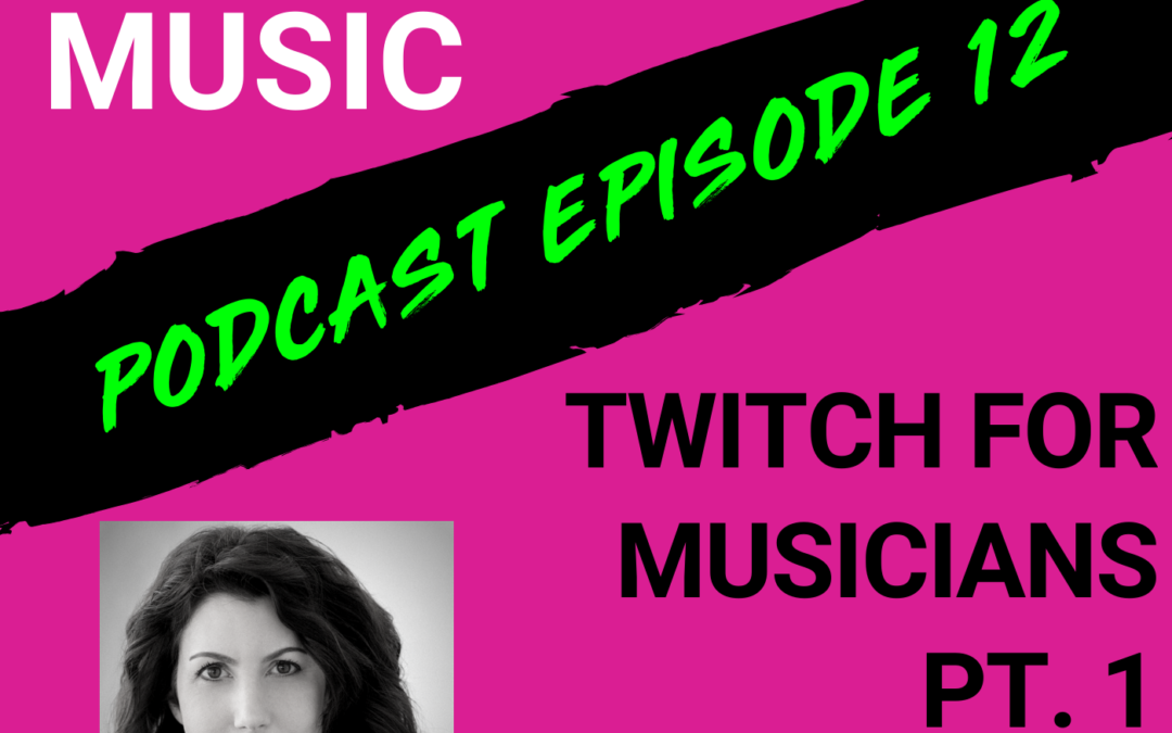Cyber PR Music Podcast Karen Allen Twitch Ariel Hyatt