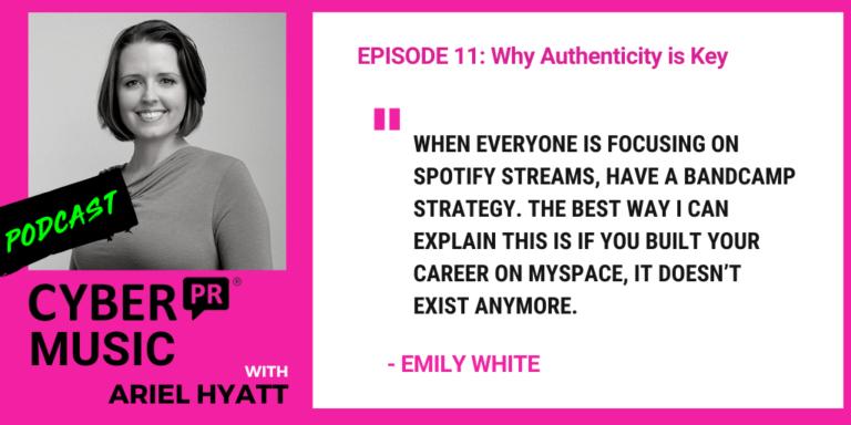 Emily White Ariel Hyatt The Cyber PR Music Podcast