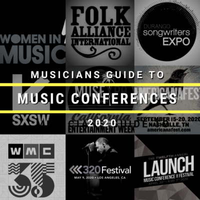 The Musician's Guide to Music Conferences 2020