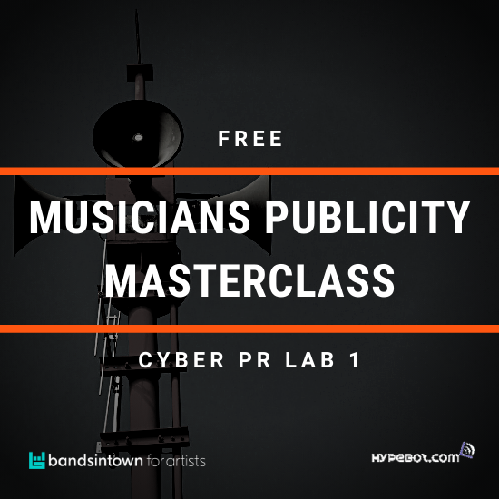 FREE Musician's Publicity Masterclass