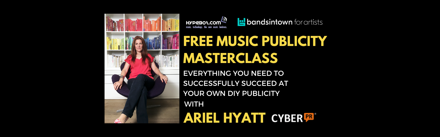 Free Music Publicity Masterclass