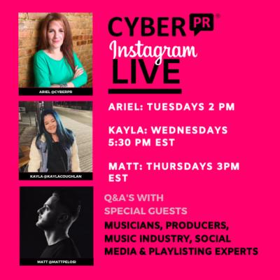 Join Us Tuesdays Wednesdays & Thursdays on Instagram LIVE