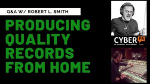 Robert Smith Cyber PR Q&A Defy Recordings