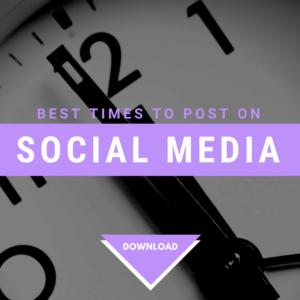 social media time guide