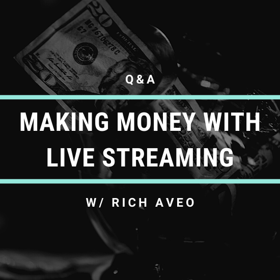 Q&A: Making Money With Live Streaming w/ Rich Aveo of The Pandemic Piano Show