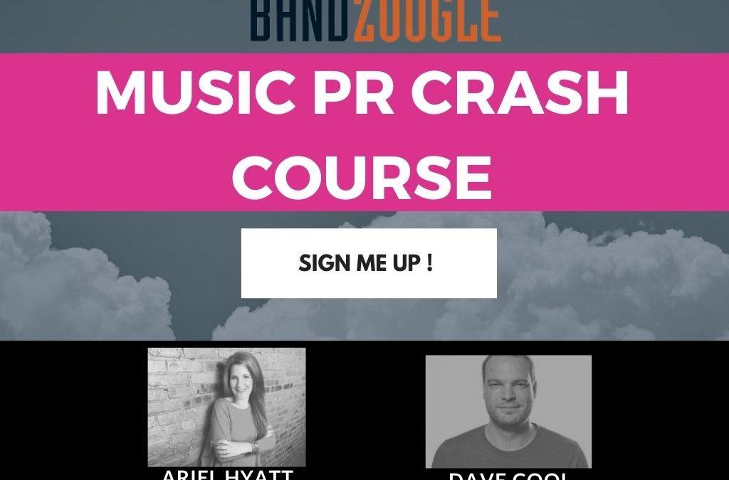 bandzoogle Cyber PR Webinar