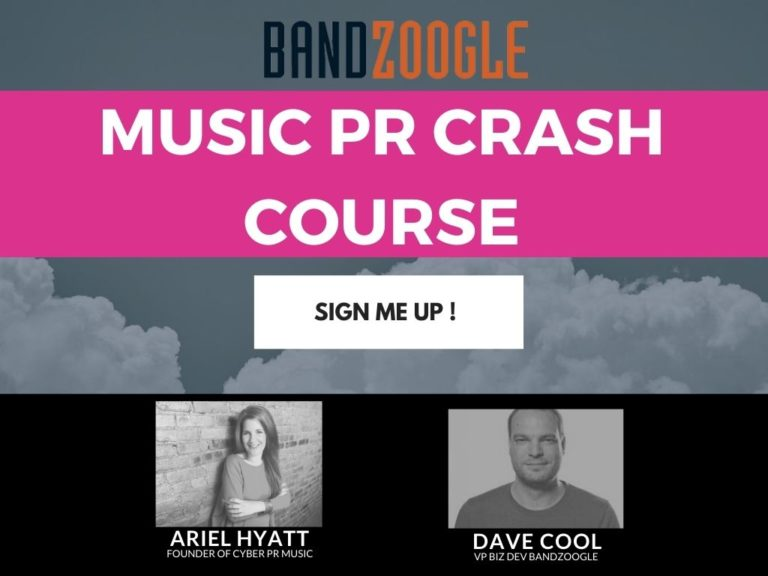 Bandzoogle Music Publicity Webinar – Everything You Need to Know in 52 Minutes