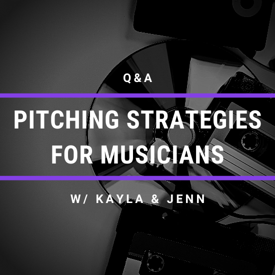 pitching strategies for musicians