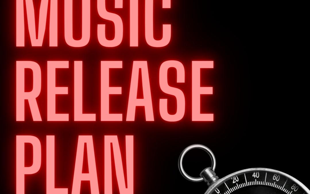 12 week music release plan