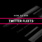 How To Use Twitter Fleets
