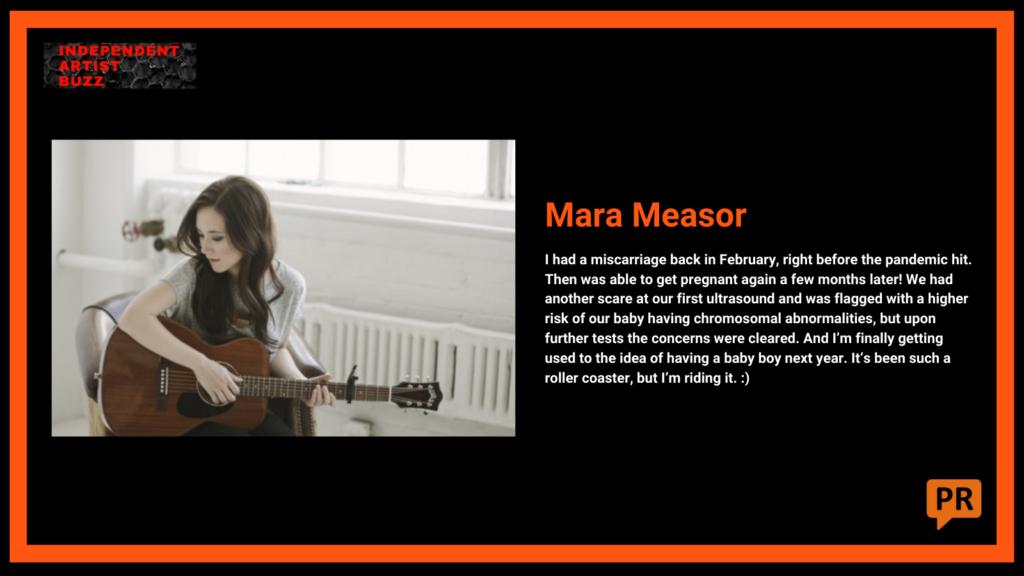 mara measor Independent Artist Buzz Spotify Playlist