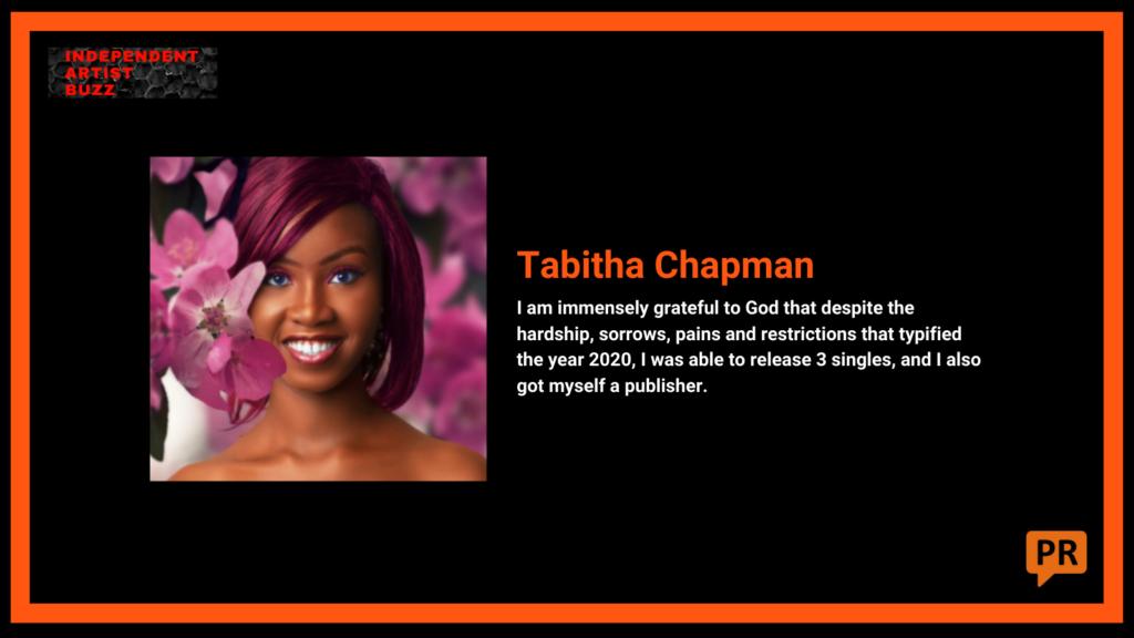 tabitha chapman Independent Artist Buzz Spotify Playlist