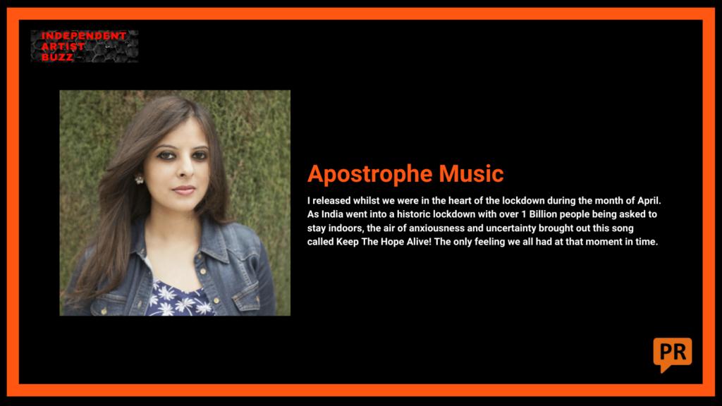 apostrophe Independent Artist Buzz Spotify Playlist