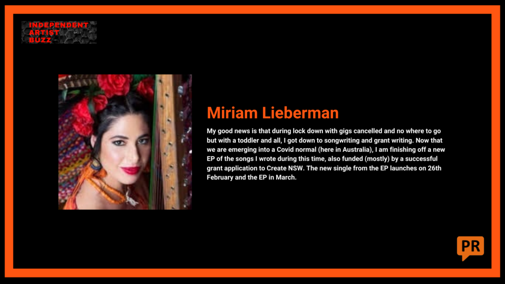 good news miriam lieberman