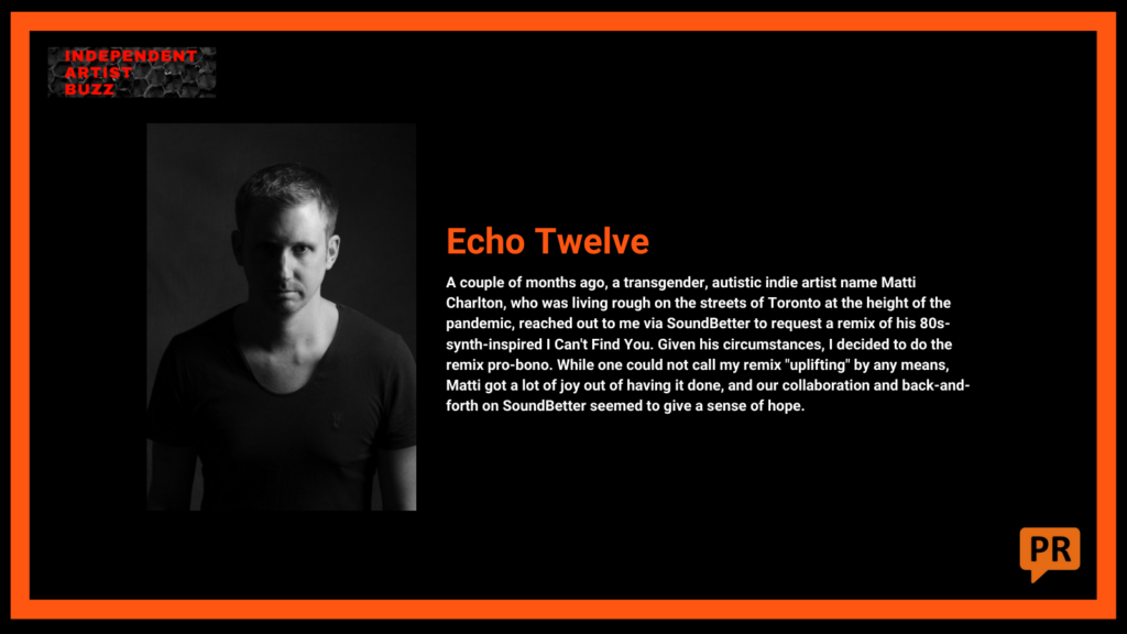 echo twelve good news