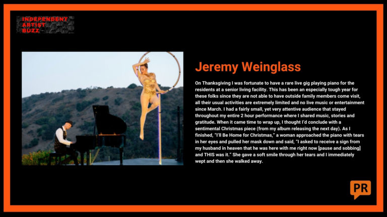 Jeremy Weinglass Independent Artist Buzz Spotify Playlist