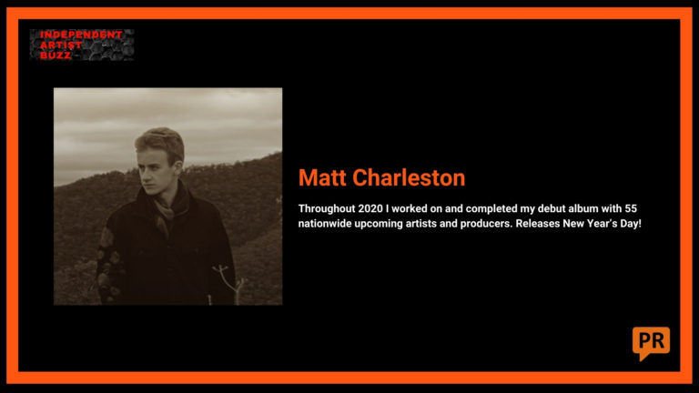 Matt Charleston Independent Artist Buzz Spotify Playlist