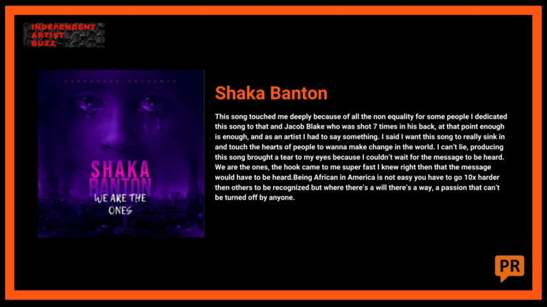 Shaka Banton Independent Artist Buzz Spotify Playlist