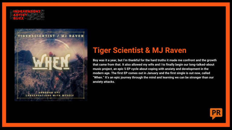 Tiger Scientist Independent Artist Buzz Spotify Playlist