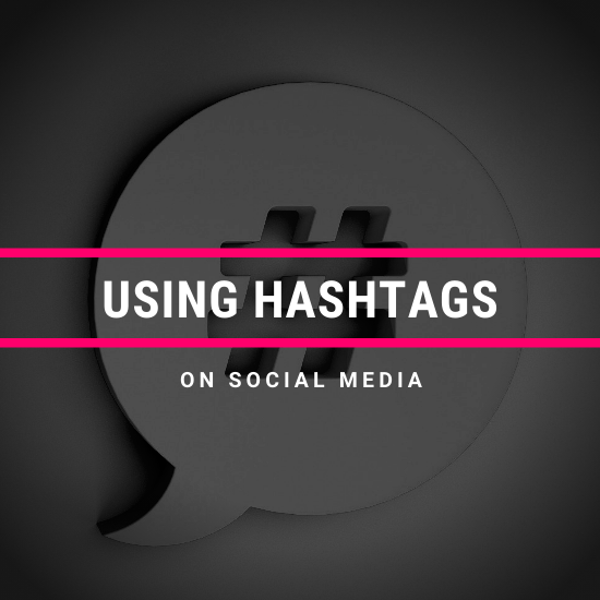 hashtags on social media