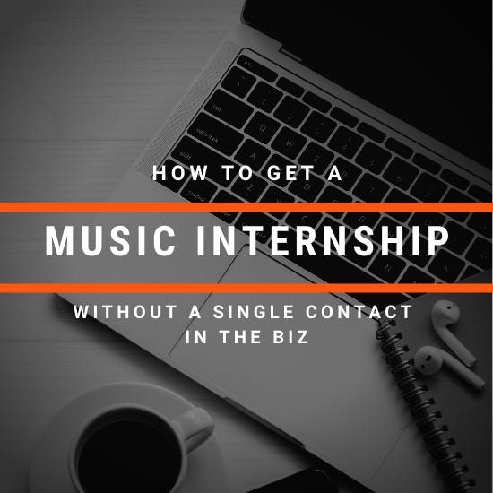 music internship