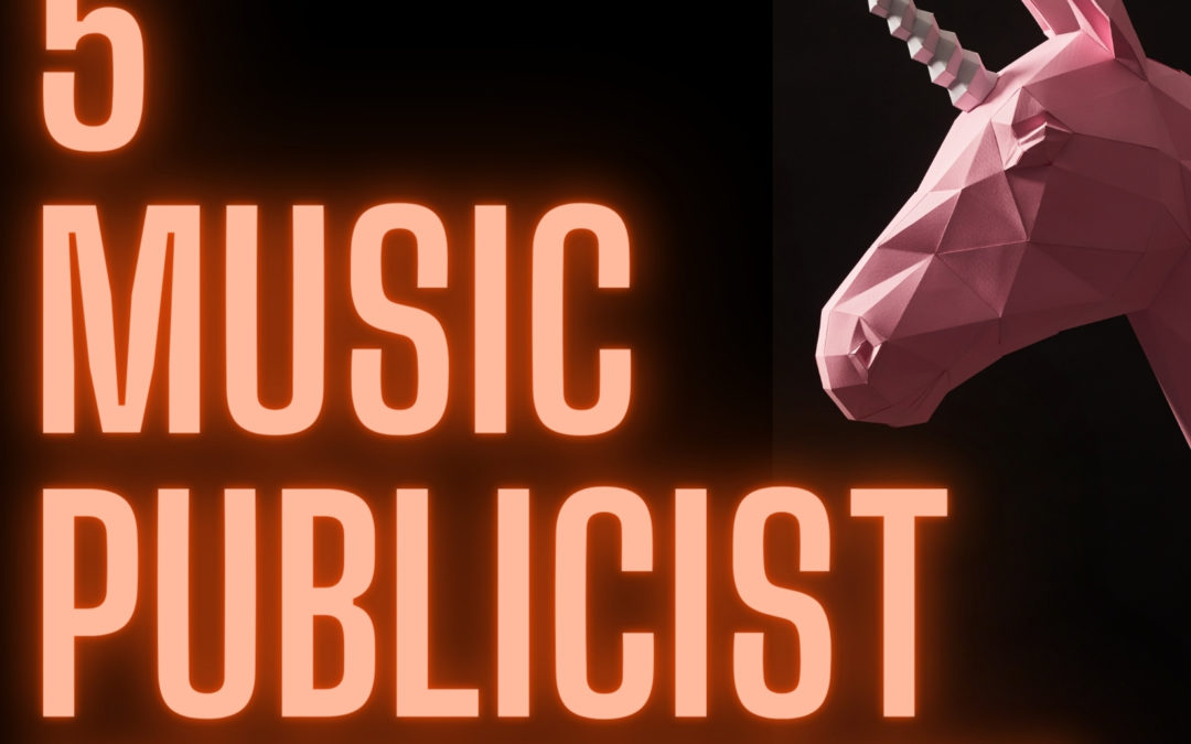 5 music publicity misconceptions