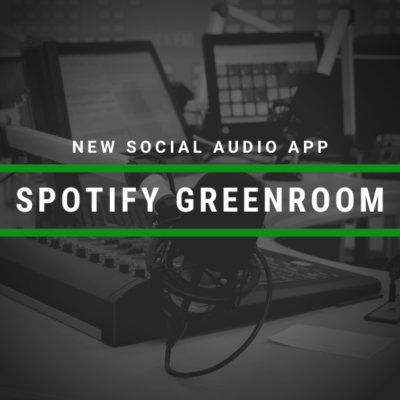 Spotify Releases Social Audio App Greenroom